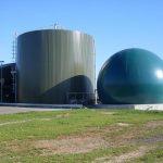 Bio gas - statiniai iš tentinės medžiagos skirti laikyti medžiagas dujų pagrindu