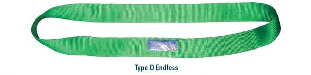 Flat Webbing D Endless Sling_Baltic_Tents
